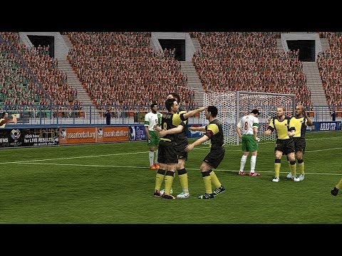 PES 6 - Retro friendly match - Malaysia vs. Indonesia