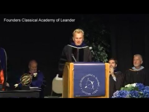 'Wheel of Fortune' host Pat Sajak speaks at local academy's inaugural graduation