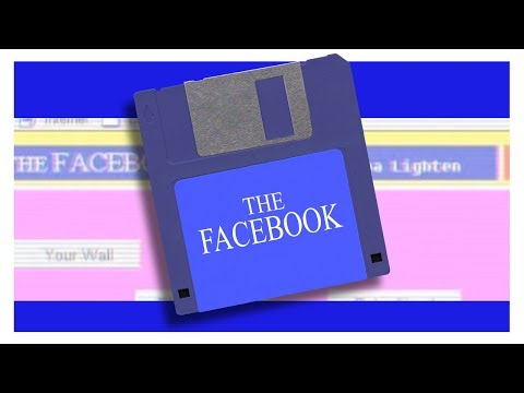If Facebook were invented in the '90s..., VHS tape with the popular science show 'Wonders of the World Wide Web' about Facebook.