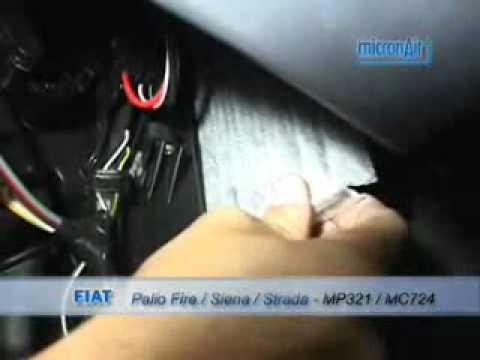Filtro ar condicionado strada