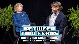 Zach Galifianakis vs Hillary Clinton: Between Two Ferns