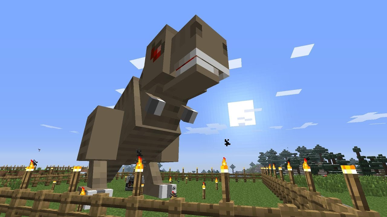 minecraft dinosaurs part 49 were back youtube