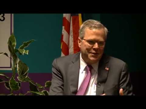 Jeb Bush Discusses Digital Learning at Nevada's ATECH Academy.