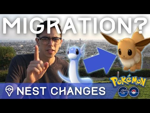 POKÉMON NESTS ARE CHANGING IN POKÉMON GO