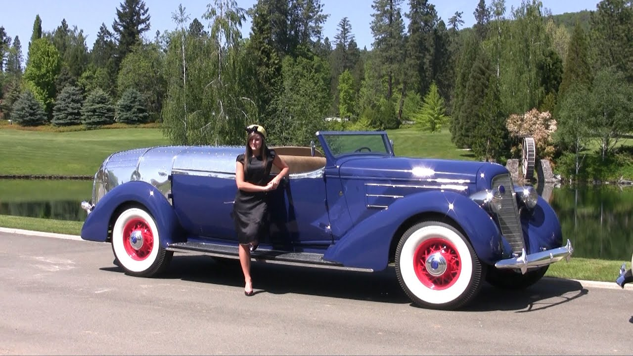 Howard Hughes 1936 Lincoln Camera Car Youtube