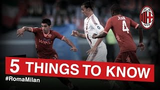 Roma-AC Milan: 5 things to know | AC Milan Official