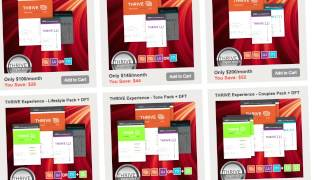 How Much Does It Cost THRIVE 8 Week Experience HD 720p