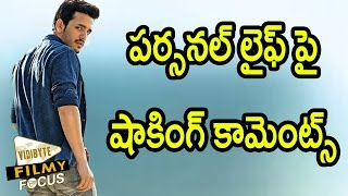 Akhil Shocking Comments On His Personal Life…!!!