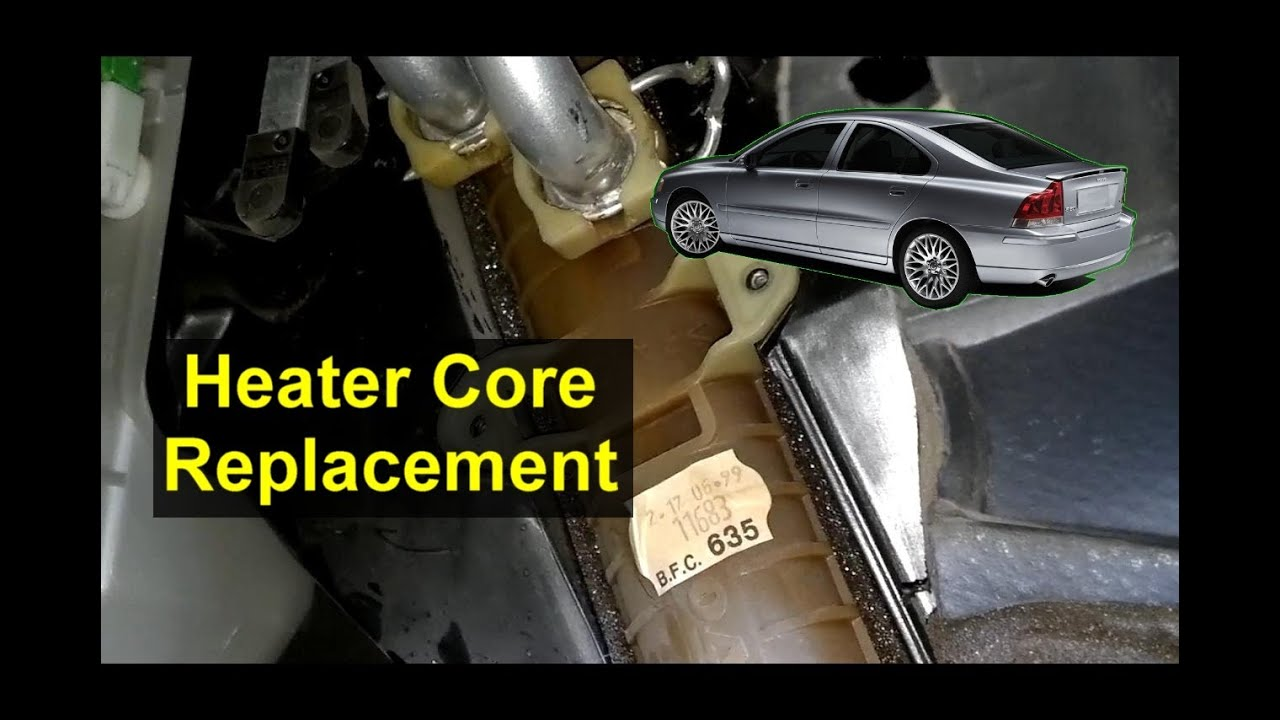 Heater Core Replacement  Volvo S80