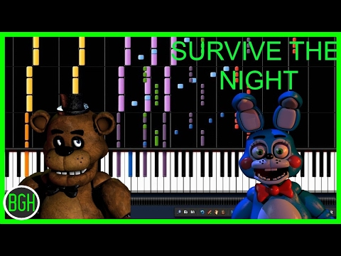 Fnaf 2 song 1 hour survive the night survive the night five nights