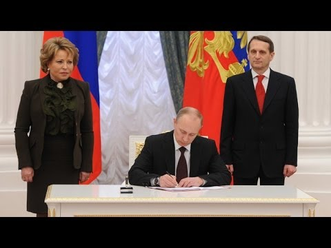 Crimea, Sevastopol officially join Russia as Putin signs final decree