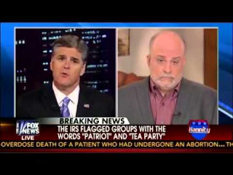 Mark Levin on Hannity talking IRS, Benghazi and AP scandals