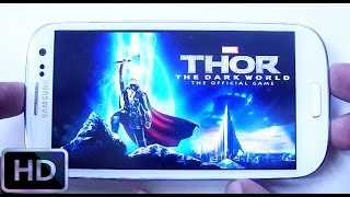 Thor: The Dark World Gameplay Android & IOS HD