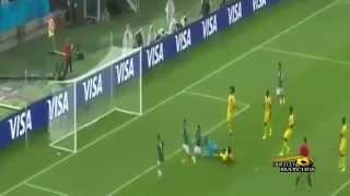 اهداف مباراة المكسيك والكاميرون 1 0 كاس العالم 13 6 2014  HD