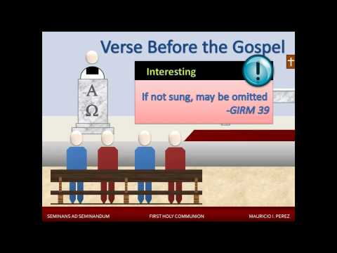 1st Holy Communion - Lesson 3 - We Listen