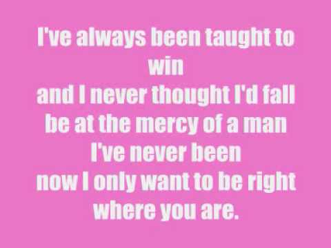 Jessica Simpson - I Wanna Love You Forever w/lyrics