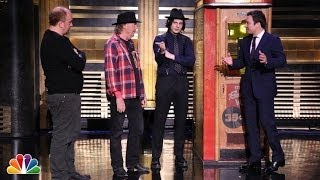 Neil Young and Jack White Bring back the Voice-O-Graph Machine