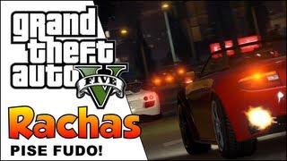 (PS3)GTA V CORRIDA DE RUA (FAZENDO RACHA NO GTA 5)