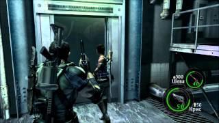 [Coop] Resident Evil 5 - Серия 14: Его надо сжечь 2...