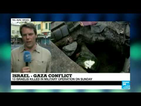 Gaza Conflict - Operation 'Protective Edge' continues