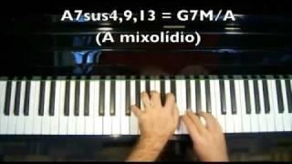 Aula De Piano Harmonia Aplicada: Dominantes Sus4 (parte3
