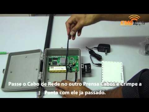 Como Montar o Kit Provedor Profissional Mikrotik Comprado na EMSTech