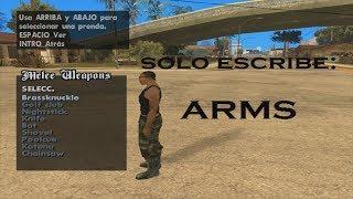 Como Poner Armas En La Espalda Y Selector De Armas Para