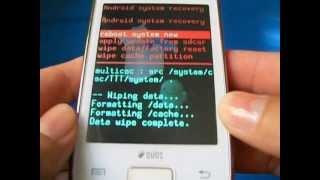 Hard Reset Galaxy Y DUOS S6102 Como Formatar