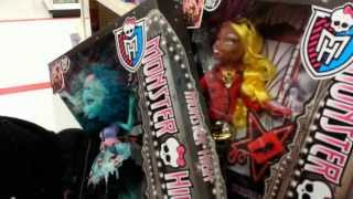 Toy Hunting Monster High Frights Camera Action And Art