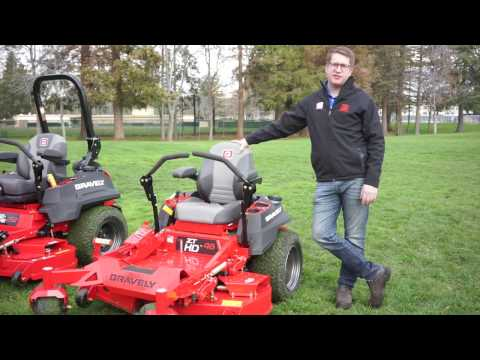 2017 Gravely ZT HD Zero Turn Professional Lawn Mower Overview