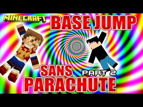 Fanta Bob Show n°31 - Base Jump SANS PARACHUTE !!! - Part. 2 - Minecraft Map