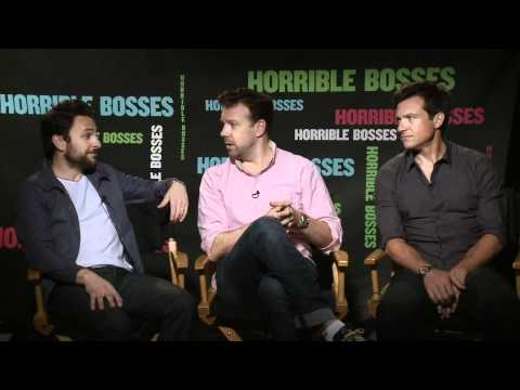 Horrible Bosses - Jason Sudeikis, Jason Bateman &amp; Charlie Day