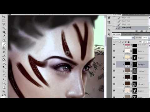 Painting skin: colour and tone in Photoshop with Mario Wibisono part 4