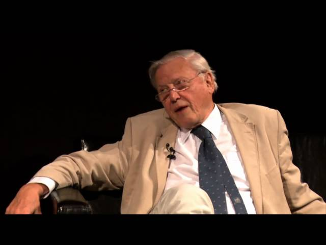 [Jim meets....]  Sir David Attenborough - University of Surrey
