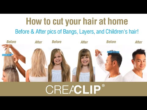 How To Cut Your Hair At Home Before Amp After Pics Of Bangs