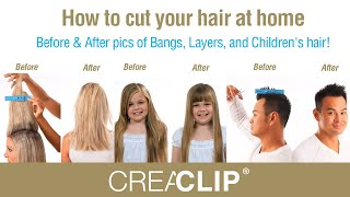 How To Cut Your Hair At Home-Before & After Pics Of Bangs