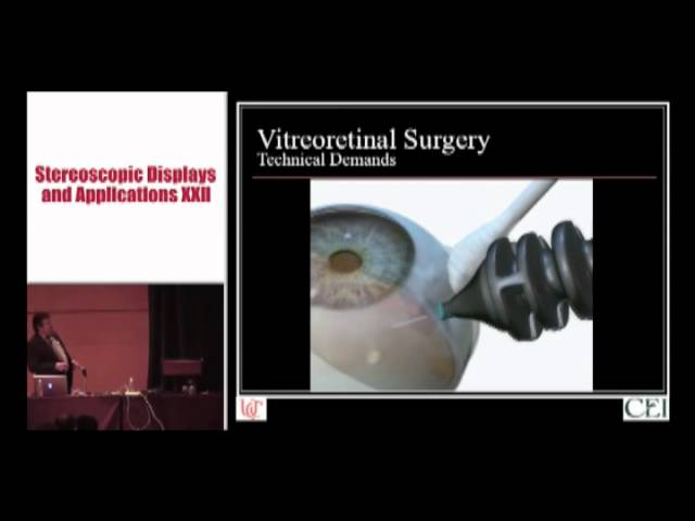 Dr. Christopher Riemann - Machine Vision and Vitrectomy - 3D Hi-Def for Surgery Part One