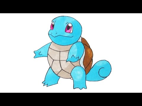 How to Draw Pokemon #007 Squirtle