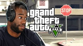 We Try Playing Grand Theft Auto 5 Without Breaking Any Laws • Episode 1
