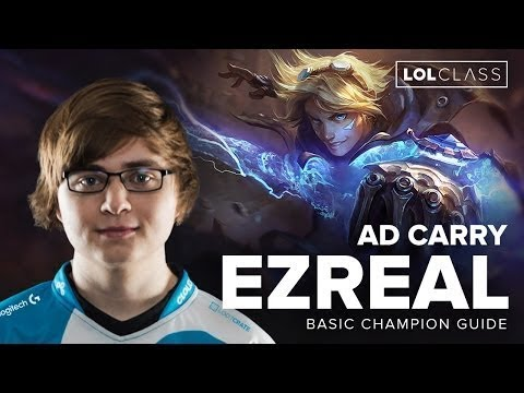 Ezreal ADC Guide by Cloud9 Sneaky   Patch 6 3   League of Legends