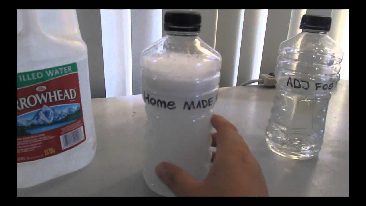 how to make fog machine fluid