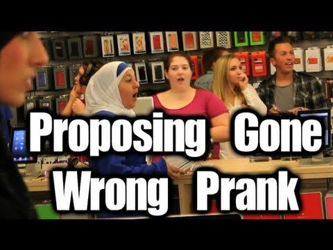 Public Prank - Proposing Gone Wrong (Valentine's Prank)