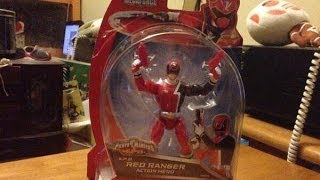 Power Rangers Super Megaforce   S.P.D. Red Ranger Action Hero   (HD)