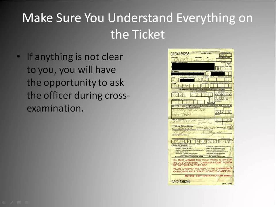 How To Beat A Speeding Ticket >> Traffic Ticket Dismissal - How To Get Yours Dismissed - YouTube
