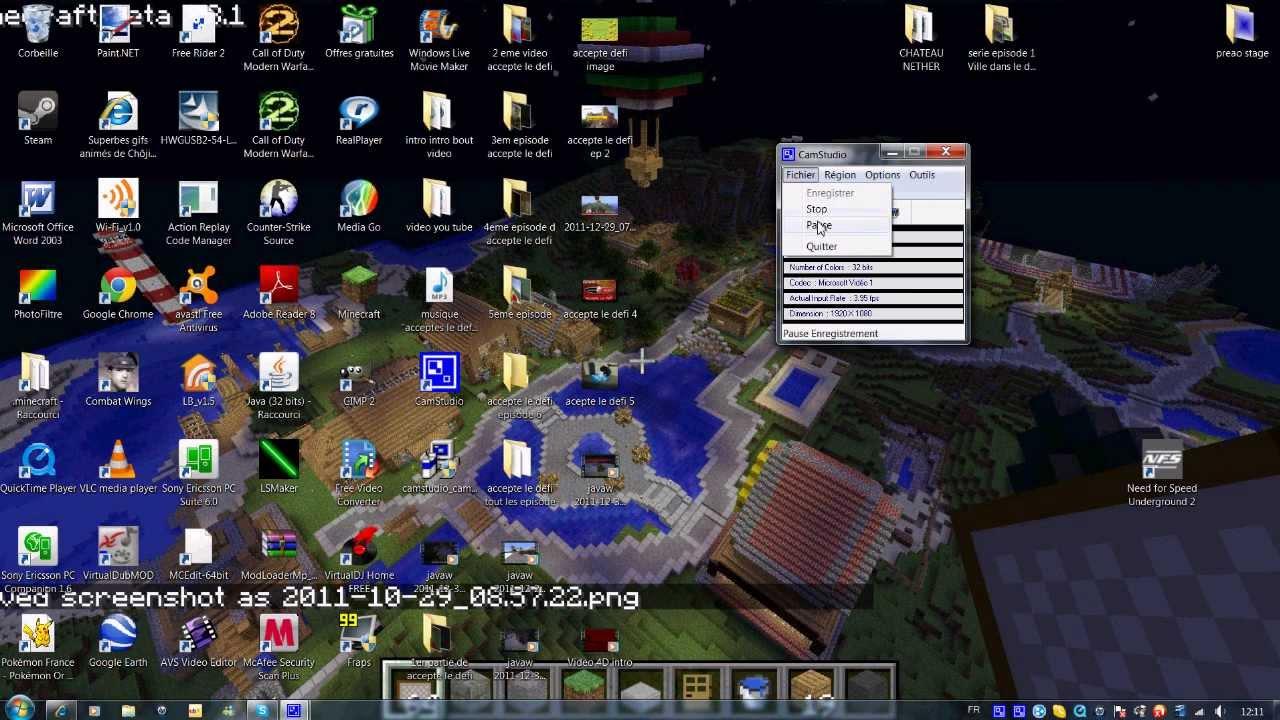 telecharger camstudio gratuit en francais windows 7