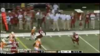 2013 NFL Draft WR Rankings With Highlights [HD]