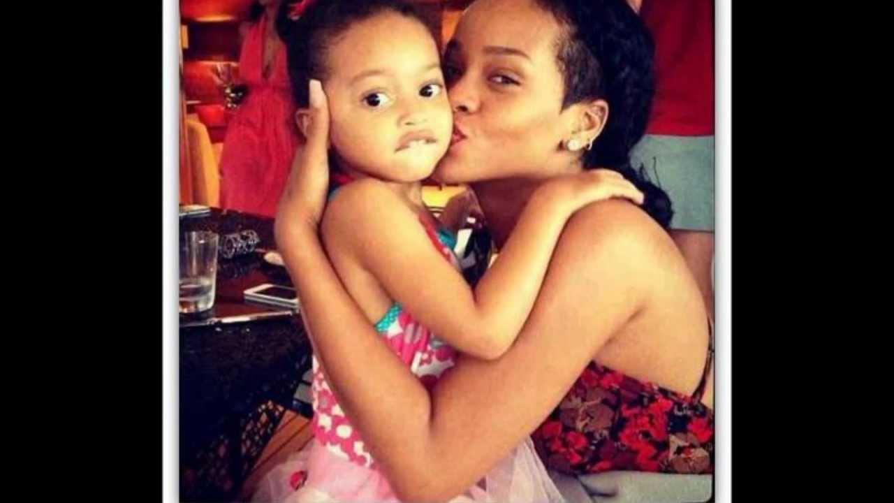 Rihanna And Her Adopted Daughter Rihanna | Cute - YouTu...
