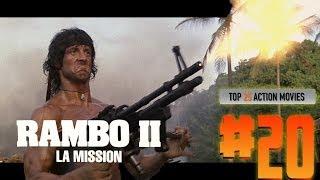 Top 25 Action Movies #20 RAMBO 2 LA MISSION
