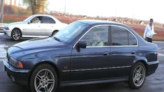 Гонка BMW 520 m54b22 VS BMW 523 M52TUB25