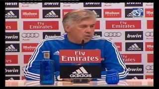 Conferencia de prensa de Carlo Ancelotti previa al partido ante el Almería